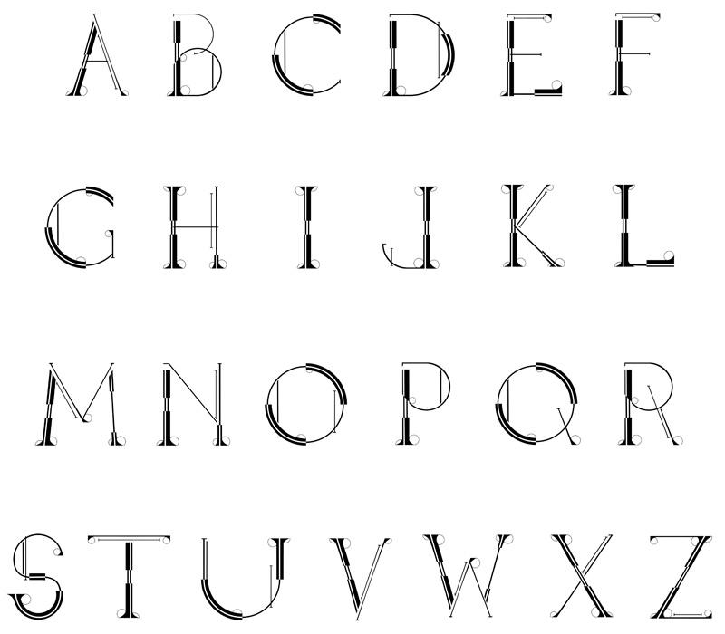 Engineering Typeface