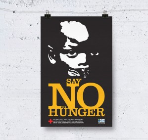 No Hunger Poster