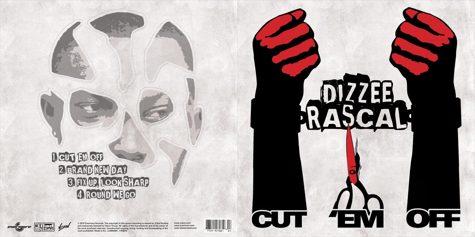 Dizzee Rascal CD Cover