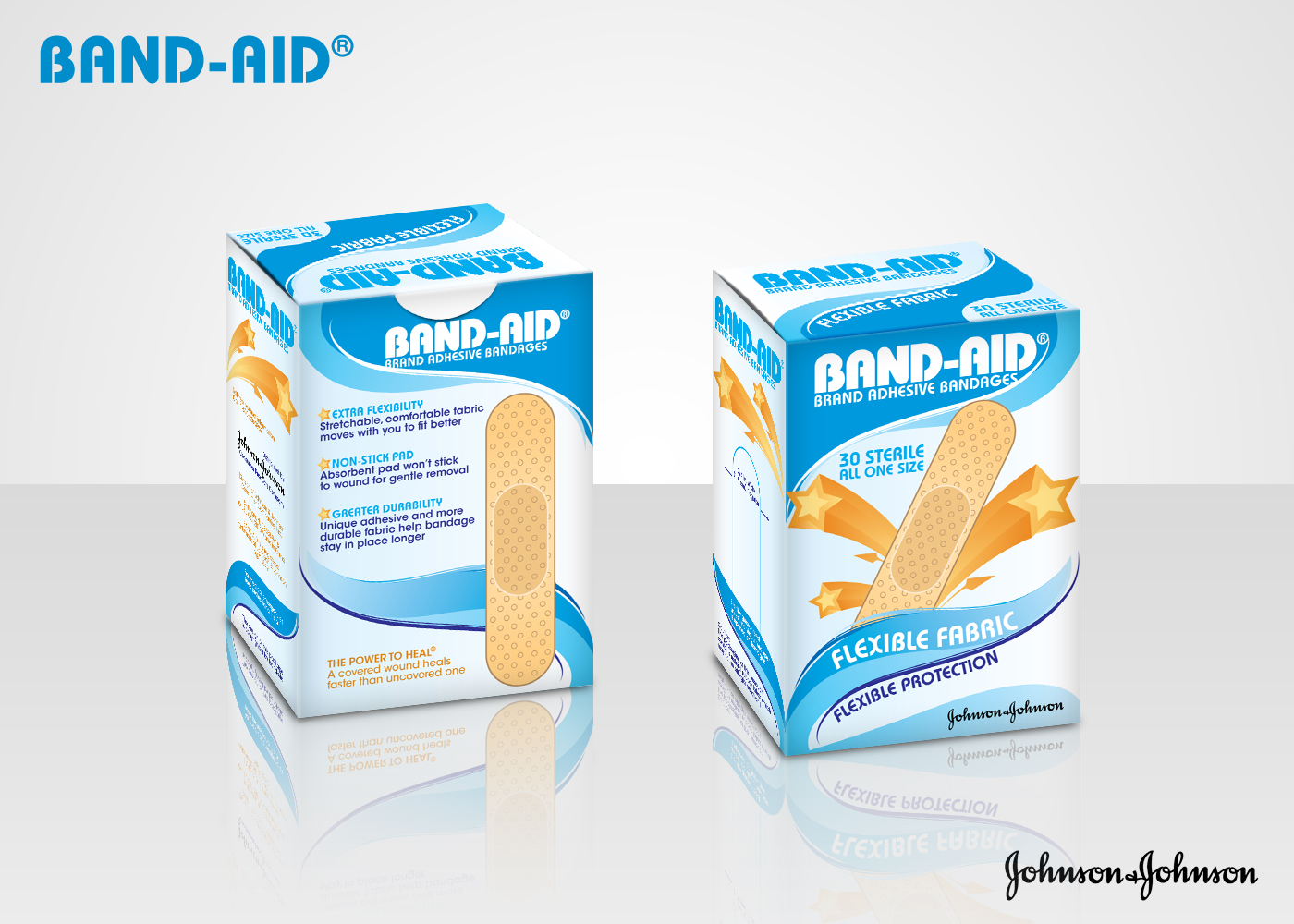 Band-Aid Package Redesign