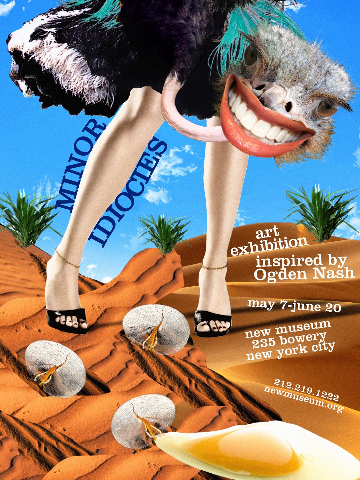 Ogden Nash Poster