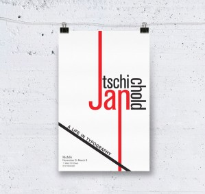 Jan Tschichold Exhibition Graphics