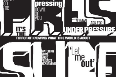 Under Pressure – Concrete Poetry
