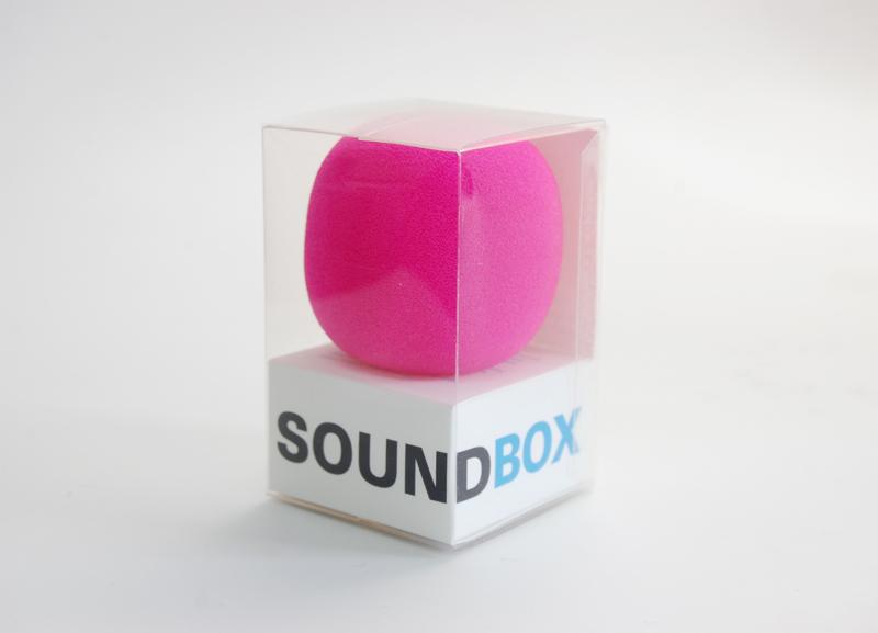 Sound Box Package Design