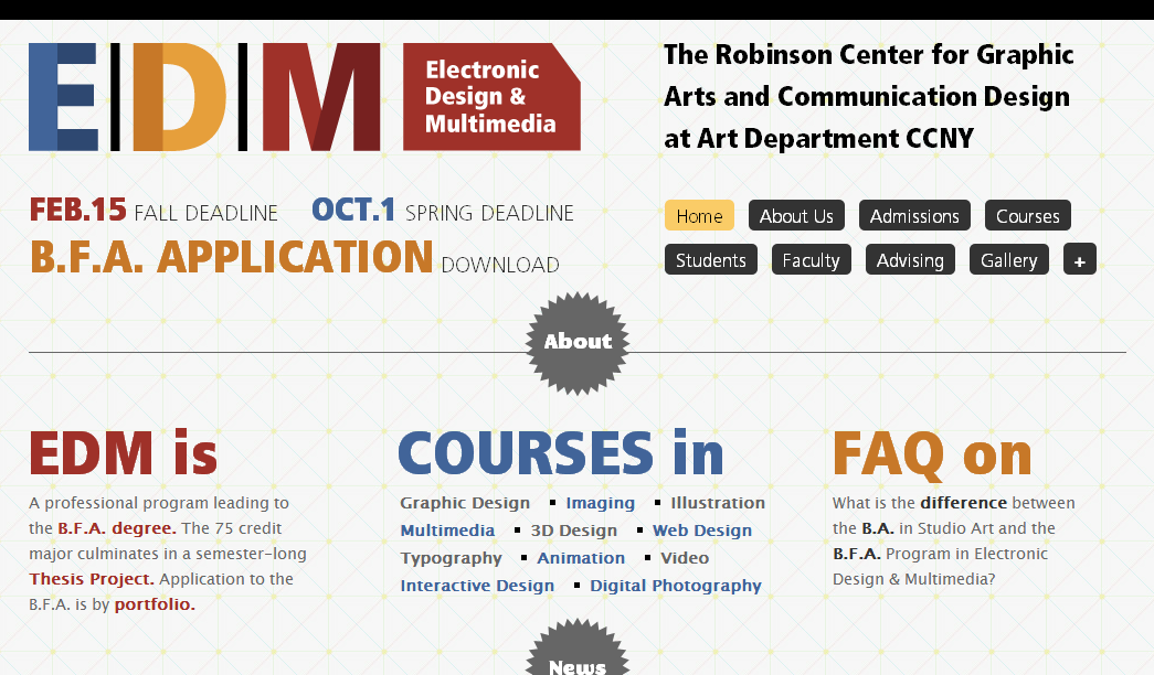 Electronic Design & Multimedia program