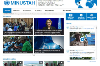 UN Peace Operations Websites