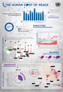Human Cost of Peace Infographic