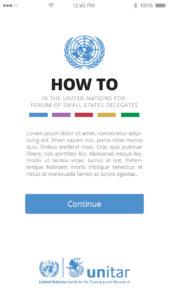 """UN """"HOW TO"""" App"""